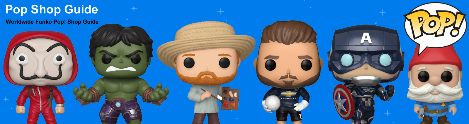 Pop Shop Guide - Funko Pop! Shop Guide