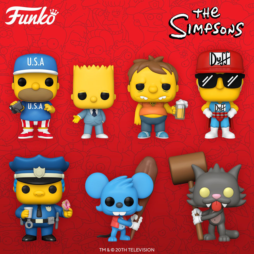 Funko Pop Television - The Simpsons - New figures 01 - Pop Shop Guide