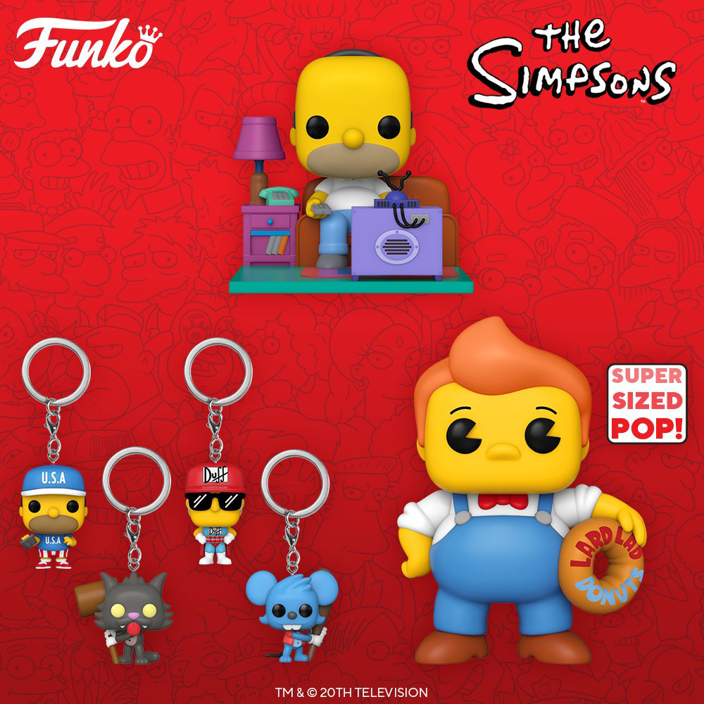 Funko Pop Television - The Simpsons - New figures 02 - Pop Shop Guide