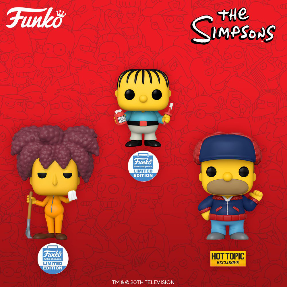 Funko Pop Television - The Simpsons - New figures 03 - Pop Shop Guide